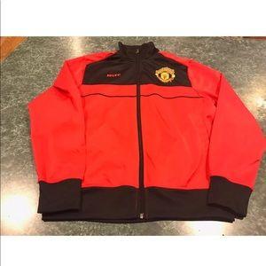 Manchester United Red / Black Track Jacket Men's S